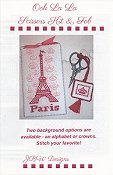JBW Designs - Ooh La La Scissors Kit & Fob THUMBNAIL