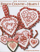 JBW Designs - French Country Hearts I THUMBNAIL