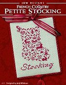 JBW Designs - French Country Petite Stocking THUMBNAIL