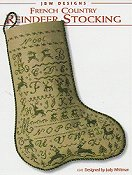 JBW Designs - French Country Reindeer Stocking THUMBNAIL