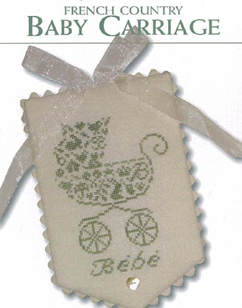 JBW Designs - French Country Baby Carriage THUMBNAIL