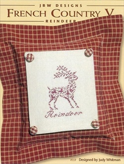 JBW Designs - French Country V - Reindeer