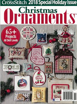 Just Cross Stitch 2018 Christmas Ornament Issue