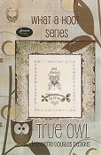 Jeannette Douglas Designs - What A Hoot Series - True Owl THUMBNAIL