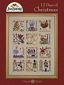 Mill Hill Book - 12 Days of Christmas by Jim Shore THUMBNAIL