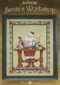 Mill Hill Book - Santa's Workshop by Jim Shore THUMBNAIL