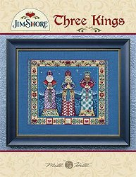 Mill Hill Book - Three Kings by Jim Shore