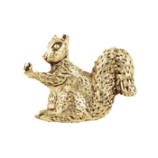 Just Nan - Antique Gold Squirrel Bead