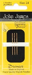 John James Petite Gold Needles MAIN