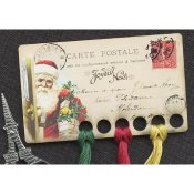 Vintage Postcard Series #16 - Joyeux Noel Threadkeep THUMBNAIL