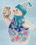 Jim Shore by Mill Hill - Winter Series - Snowy Owl Snowman