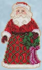 Jim Shore by Mill Hill - Winter Series - Greetings Santa MAIN