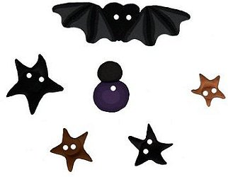 Jabco Button Pack - SamSarah Design Studio - The Witch's Hat MAIN