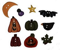 Jabco Button Pack - Shepherd's Bush Scatter Pumpkins THUMBNAIL