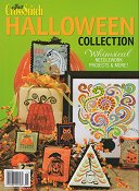 Just Cross Stitch Halloween Collection Whimsical Needlework Projects & More!  Fall 2011 - Sold Out