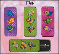 Just Nan - Needle Slides - Bird Designs