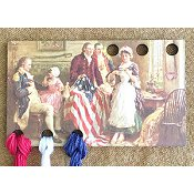 Vintage Postcard Series #8 - Betsy Ross Threadkeep THUMBNAIL