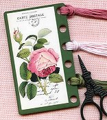 Whimsical Edge Thread Keep - French Roses Vintage THUMBNAIL