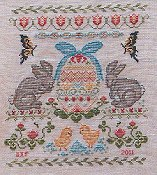 Keepsake Stitches - Eggstra Special Sampler THUMBNAIL