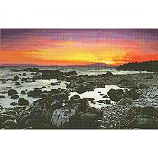 Kustom Krafts (Artecy Cross Stitch) Beach at Sunrise 20203 THUMBNAIL