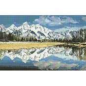 Kustom Krafts (Artecy Cross Stitch) Mountain Reflection 20243 THUMBNAIL