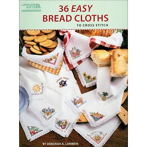 Leisure Arts - 36 Easy Bread Cloths MAIN