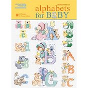 Leisure Arts - Alphabets for Baby THUMBNAIL
