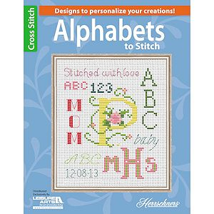 Leisure Arts - 12 Alphabets to Stitch MAIN