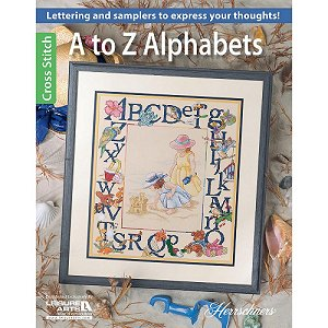 Leisure Arts - A to Z Alphabets MAIN
