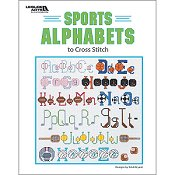 Leisure Arts - Sports Alphabets to Cross Stitch