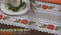 16ct Crochet Lace Table Runner