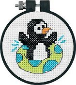 Dimensions Learn A Craft - Playful Penguin (S)