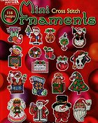 Leisure Arts - Mini Ornaments to Cross Stitch
