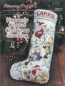 Leaflet 74 Heavenly Chorus Christmas Stocking THUMBNAIL