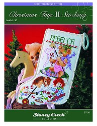 Leaflet 136 Christmas Toys II Stocking THUMBNAIL