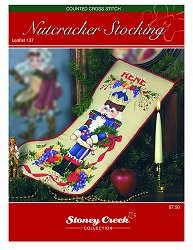 Leaflet 137 Nutcracker Stocking THUMBNAIL