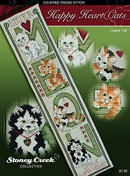 Leaflet 138 Happy Hearts Cats THUMBNAIL