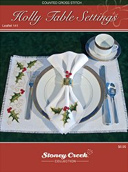 Leaflet 141 Holly Table Settings MAIN