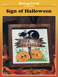 Leaflet 177 Sign of Halloween
