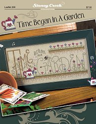 Leaflet 208 Time Began In A Garden MAIN