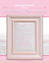 Leaflet 216 Little Princess Birth Sampler MAIN