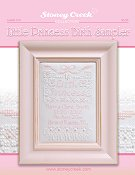 Leaflet 216 Little Princess Birth Sampler THUMBNAIL