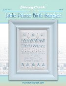 Leaflet 217 Little Prince Birth Sampler