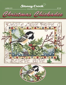 Leaflet 221 Christmas Chickadee_MAIN