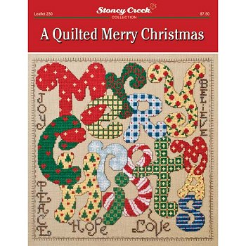 Leaflet 230 Quilted Merry Christmas MAIN