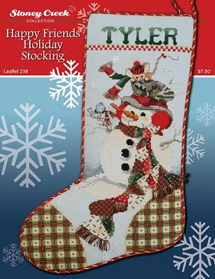 Leaflet 238 Happy Friends Holiday Stocking_MAIN