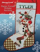 Leaflet 238 Happy Friends Holiday Stocking THUMBNAIL