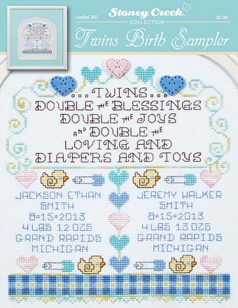 Leaflet 260 Twins Birth Sampler MAIN