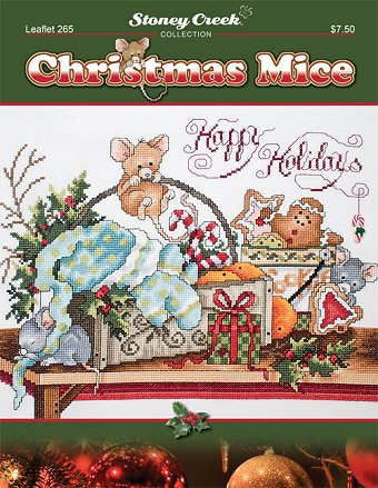 Leaflet 265 Christmas Mice MAIN