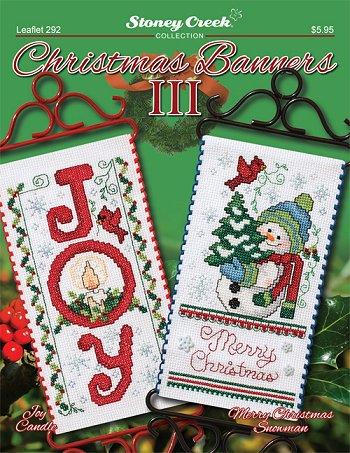 Christmas Banners.Leaflet 292 Christmas Banners Iii